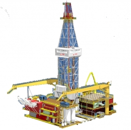 AXON Rig Concept & Design: The AXON platform rigs are designed to perform drilling and/or workover operations with a Mast Equipment Package (MEP) or Derrick Equipment Package (DEP)/Drilling Support Module (DSM) installed on a fixed installation. Additionally, we offer modular drilling units (MDU) for an alternative to mobilizing a jack-up rig or re-commissioning a platform drilling package.