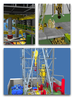 AXON Rig Concept & Design: AXON provides a broad range of modification services to all types of drilling rigs, including jack-ups, platforms, modular rigs, and semi-submersibles. These services include mechanical, structural, equipment, and system upgrades, which help transform your drilling facility into one that meets new operational and regulatory requirements. By coordinating these regulatory, environmental, classification society, and operational constraints, AXON is able to identify key impact areas e